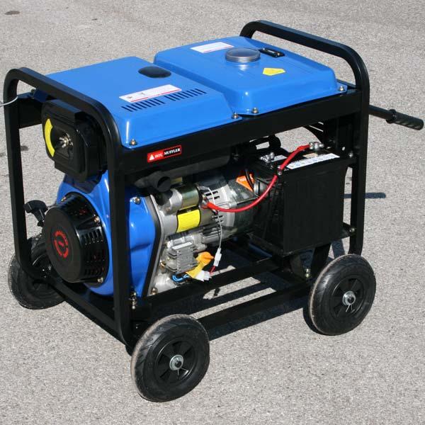 Motogeneratore generatore di corrente diesel 6 kw ebay for Generatore di corrente diesel usato